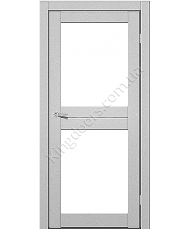 """Межкомнатные двери M 102. Пленка ПВХ. Фабрика """"Art Door"""". Цвет металлик"""