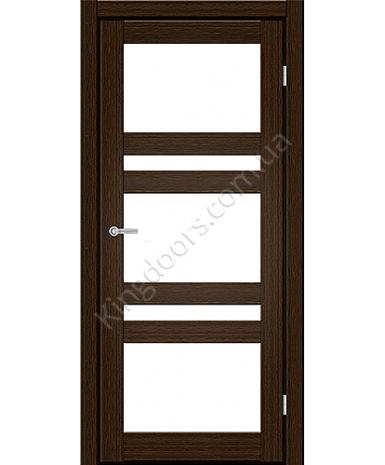 """Межкомнатные двери CTD 112. Пленка ПВХ. Фабрика """"Art Door"""". Цвет каштан"""