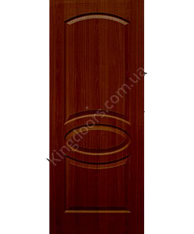 """Межкомнатные двери """"Лика"""" ПГ. Фабрика Омис. Покрытие пленка ПВХ. Цвет - каштан"""