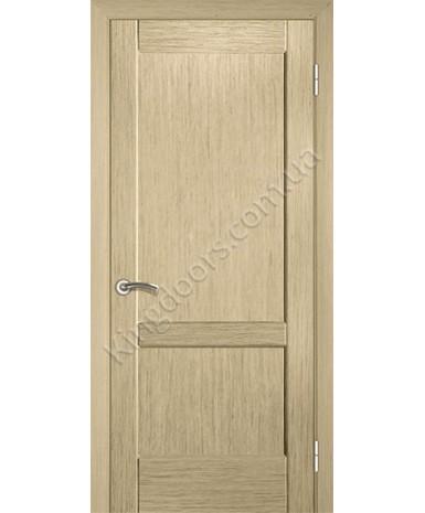 """Межкомнатные шпонированные двери """"Классик 1"""" ПГ.  НСД. Цвет - дуб беленый"""