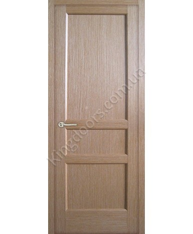 """Межкомнатные шпонированные двери """"Классик 4"""" ПГ.  НСД. Цвет -  дуб классический"""