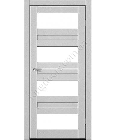 """Межкомнатные двери CTD 214. Пленка ПВХ. Фабрика """"Art Door"""". Цвет металлик"""