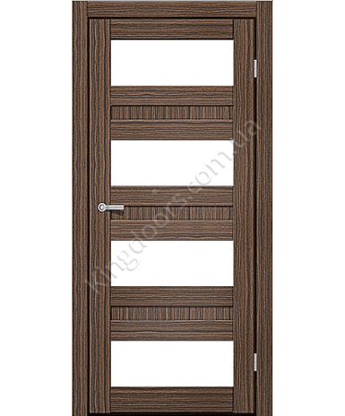 """Межкомнатные двери CTD 214. Пленка ПВХ. Фабрика """"Art Door"""". Цвет зебрано"""