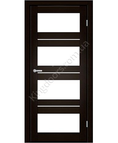 """Межкомнатные двери M 302. Пленка ПВХ. Фабрика """"Art Door"""". Цвет венге"""