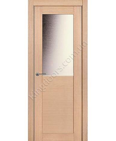"""Межкомнатные шпонированные двери """"Дублин"""" ПО.  НСД. Цвет - дуб беленый"""