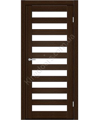 """Межкомнатные двери CTD 312. Пленка ПВХ. Фабрика """"Art Door"""". Цвет каштан"""