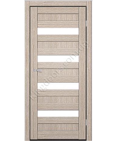 """Межкомнатные двери CTD 313. Пленка ПВХ. Фабрика """"Art Door"""". Цвет беленый дуб"""