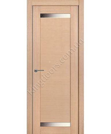 """Межкомнатные шпонированные двери """"Дублин 2"""" ПО.  НСД. Цвет - дуб беленый"""