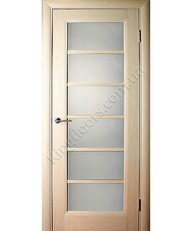 """Межкомнатные шпонированные двери """"Калипсо 1"""" ПО.  НСД. Цвет - дуб беленый"""