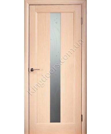 """Межкомнатные шпонированные двери """"Ланда"""" ПО.  НСД. Цвет - дуб беленый"""