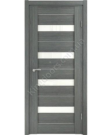 """Межкомнатные шпонированные двери """"Марсель -С"""" ПО.  НСД. Цвет - грей"""