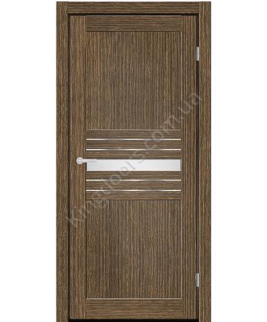 """Межкомнатные двери MD 52. Пленка ПВХ. Фабрика """"Art Door"""". Цвет зебрано"""