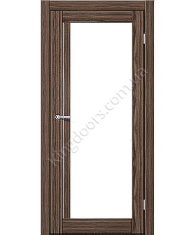 """Межкомнатные двери M 602. Пленка ПВХ. Фабрика """"Art Door"""". Цвет зебрано"""