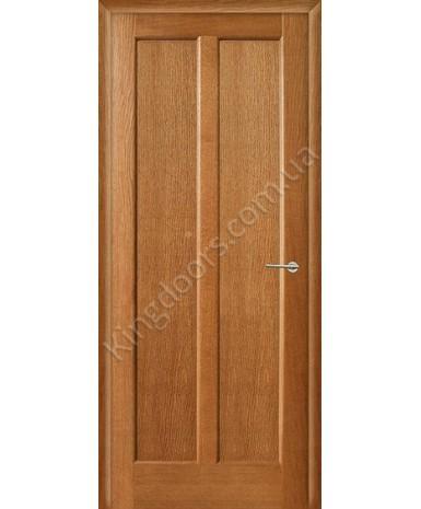 """Межкомнатные шпонированные двери """"Дельта"""" ПГ.  НСД. Цвет - анегри"""