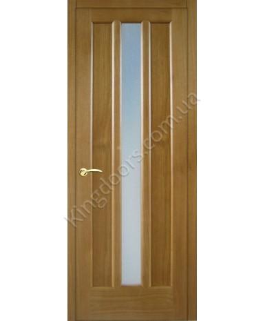 """Межкомнатные шпонированные двери """"Трояна"""" ПО.  НСД. Цвет - светлый дуб"""