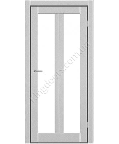 """Межкомнатные двери M 702. Пленка ПВХ. Фабрика """"Art Door"""". Цвет металлик"""