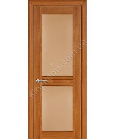 """Межкомнатные шпонированные двери """"Нью - Йорк Сити"""" ПО.  НСД. Цвет - анегри"""
