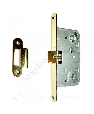 Дверной врезной механизм под поворотник. Цвет бронза