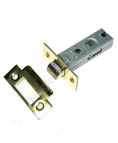 Дверной врезной механизм - защелка. Цвет бронза