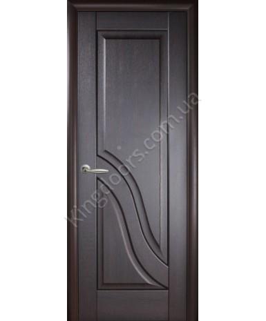 """Межкомнатные двери """"Амата"""",ПГ, пленка ПВХ, фабрика """"Новый стиль"""", цвет - венге."""