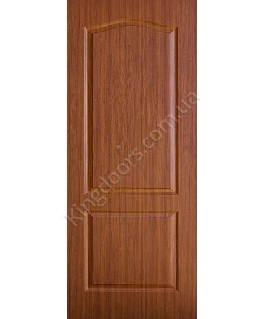 """Межкомнатные двери """"Классика"""" ПГ. Фабрика Омис. Покрытие пленка ПВХ. Цвет - орех"""