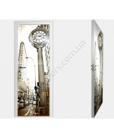 """Межкомнатные стеклокаркасные двери. Модель """"03 F"""". Фабрика Аксиома. Покрытие зеркало. фотопечать"""
