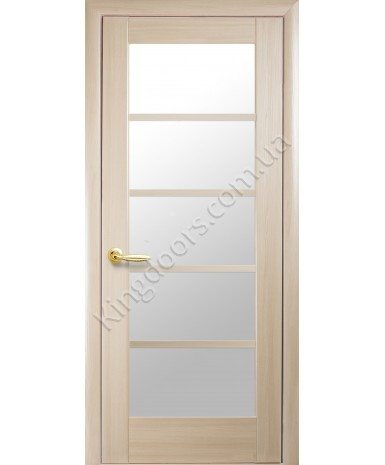 """Межкомнатные двери """"Муза"""",ПО, пленка ПВХ, фабрика """"Новый стиль"""", цвет - ясень."""