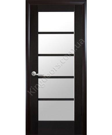 """Межкомнатные двери """"Муза"""",ПО, пленка ПВХ, фабрика """"Новый стиль"""", цвет - венге new."""