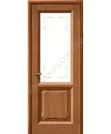 """Межкомнатные шпонированные двери """"Ника"""" ПО.  Галерея дверей. Цвет - мокко"""