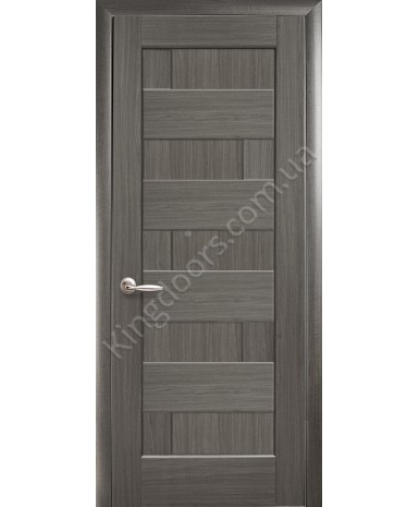"""Межкомнатные двери """"Пиана"""",ПГ, пленка ПВХ, фабрика """"Новый стиль"""", цвет - грей."""