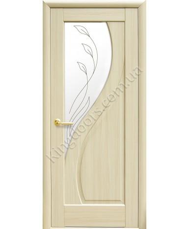 """Межкомнатные двери """"Прима"""",ПО +Р2. пленка ПВХ, фабрика """"Новый стиль"""", цвет - ясень"""