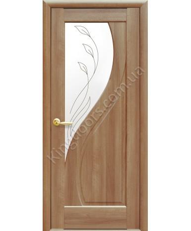 """Межкомнатные двери """"Прима"""",ПО +Р2. пленка ПВХ, фабрика """"Новый стиль"""", цвет - золотая ольха"""