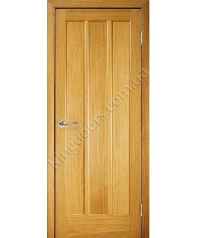 """Межкомнатные шпонированные двери """"Трояна"""" ПГ.  Галерея дверей. Цвет - дуб"""