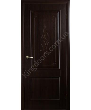"""Межкомнатные двери """"Вилла"""",ПГ, пленка ПВХ, фабрика """"Новый стиль"""", цвет - венге."""
