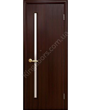 """Межкомнатные двери """"Глория"""",ПО. фабрика """"Новый стиль"""", экошпон, цвет - венге 3D"""