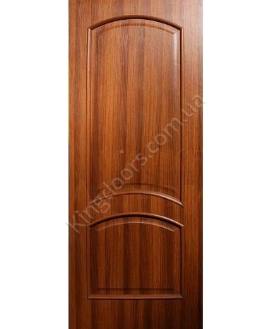 """Межкомнатные двери """"Адель"""" ПГ. Фабрика Омис. Покрытие пленка ПВХ. Цвет - ольха европейская"""