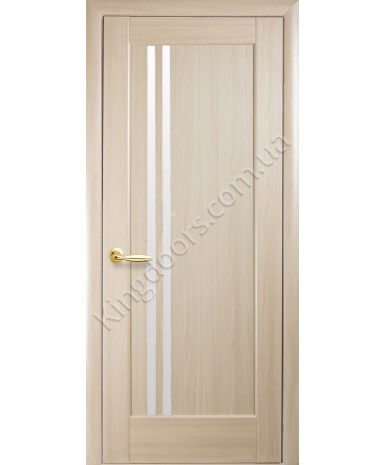 """Межкомнатные двери """"Делла"""",ПО, пленка ПВХ, фабрика """"Новый стиль"""", цвет - ясень."""