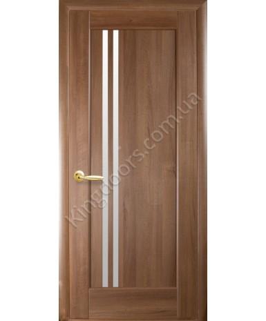 """Межкомнатные двери """"Делла"""",ПО, пленка ПВХ, фабрика """"Новый стиль"""", цвет - золотая ольха."""
