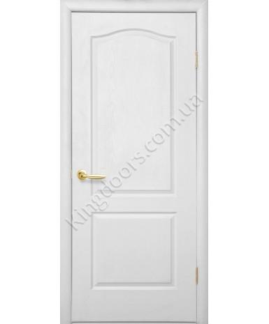 """Межкомнатные ламинированные двери """"Симпли А"""" ПГ фабрика """"Новый стиль"""", цвет - белый, под покраску."""