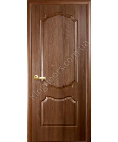 """Межкомнатные двери """"Фортис вензель"""",ПГ, пленка ПВХ, фабрика """"Новый стиль"""", цвет - золотая ольха."""