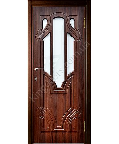 """Межкомнатные двери """"Кардинал"""" ПО. Покрытие пленка ПВХ. Фабрика """"Феникс"""" Цвет - шоколадный орех"""