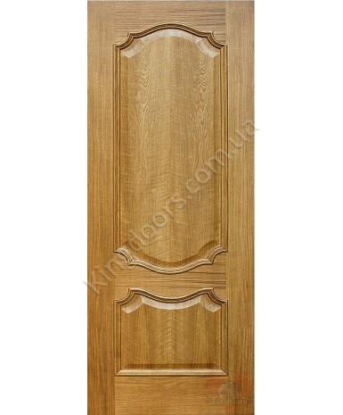 """Межкомнатные шпонированные двери """"Кармен"""" ПГ.  Фабрика Омис. Цвет - дуб тонированный натуральный"""