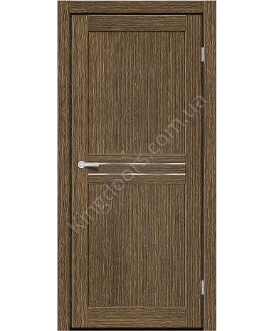 """Межкомнатные двери MD 21. Пленка ПВХ. Фабрика """"Art Door"""". Цвет зебрано"""