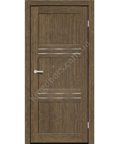 """Межкомнатные двери MD 31. Пленка ПВХ. Фабрика """"Art Door"""". Цвет зебрано"""