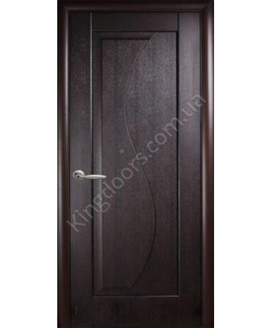 """Межкомнатные двери """"Эскада"""",ПГ, пленка ПВХ, фабрика """"Новый стиль"""", цвет - венге."""