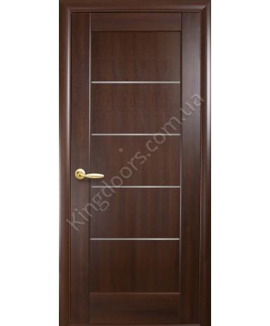 """Межкомнатные двери """"Мира"""",ПО, пленка ПВХ, фабрика """"Новый стиль"""", цвет - каштан."""