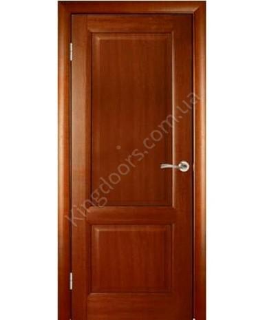 """Межкомнатные шпонированные двери """"Парламент"""" ПГ.  WoodOk. Цвет - маккоре"""