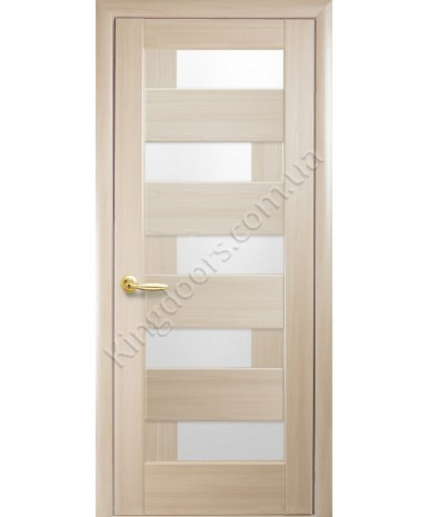 """Межкомнатные двери """"Пиана"""",ПО, пленка ПВХ, фабрика """"Новый стиль"""", цвет - ясень."""
