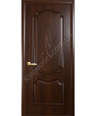 """Межкомнатные двери """"Рока"""",ПГ, пленка ПВХ, фабрика """"Новый стиль"""", цвет - каштан."""