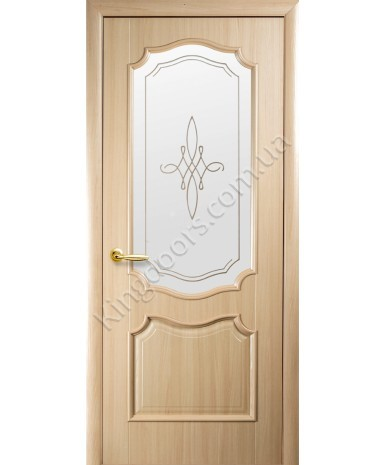 """Межкомнатные двери """"Рока"""",ПО +Р1. пленка ПВХ, фабрика """"Новый стиль"""", цвет - ясень"""